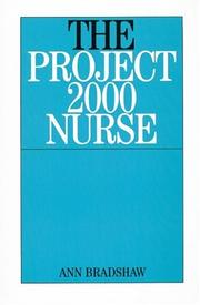 Cover of: The Project 2000 Nurses | Ann, RGN Bradshaw