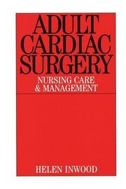 Cover of: Adult Cardiac Surgery