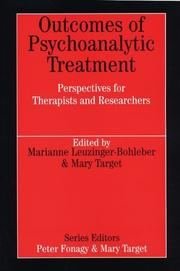 Outcomes of Psychoanalytic Treatment (Whurr Series in Psychoanalysis) by Marianne Leuzinger Bohleber