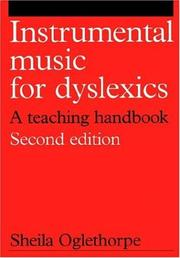 Cover of: Instrumental Music for Dyslexics (Dyslexia Series  (Whurr))