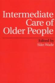 Cover of: Intermediate Care of Older People