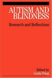Cover of: Autism and Blindness