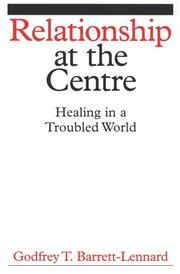 Cover of: The Therapeutic Frame