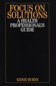 Cover of: Focus on Solutions