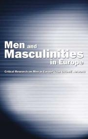 Cover of: Men and Masculinities in Europe