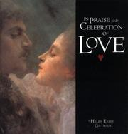 Cover of: In Praise & Celebration of Love (Large Square Giftbooks) | Helen Exley