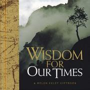 Cover of: Wisdom for Our Times (Helen Exley Giftbooks)