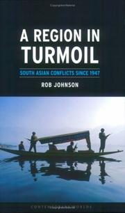 Cover of: A Region in Turmoil | Rob Johnson