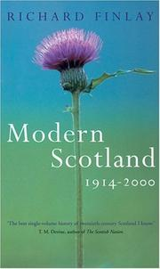 Cover of: Modern Scotland 1914-2000