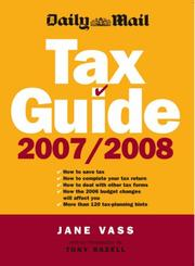 "Cover of: ""Daily Mail"" Tax Guide"