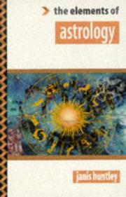 Cover of: The elements of astrology