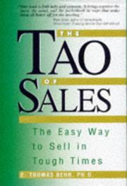 Cover of: The tao of sales