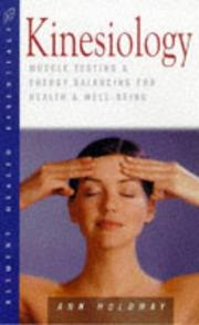 Cover of: Kinesiology