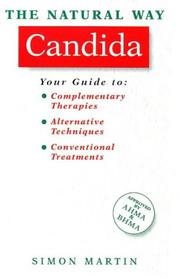 Cover of: The natural way candida | Martin, Simon
