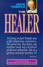 Cover of: The healer | Jack Temple