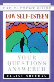 Cover of: Low Self-Esteem