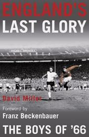 Cover of: England's Last Glory