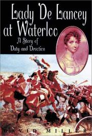 Cover of: Lady de Lancey at Waterloo