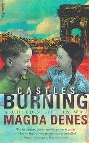 Cover of: Castles Burning a Childs Life In War