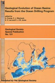 Cover of: Geological Evolution of Ocean Basins | A. Cramp