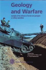 Cover of: Geology and warfare |