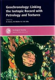 Cover of: Geochronology