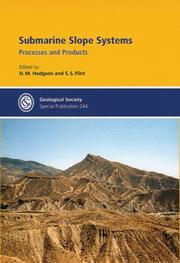 Cover of: Submarine Slope Systems
