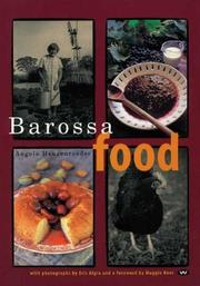 Cover of: Barossa Food