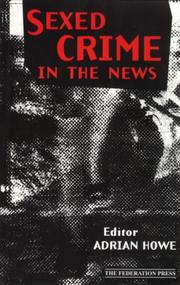 Cover of: Sexed crime in the news |