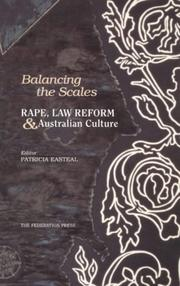 Cover of: Balancing the Scales