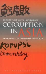Cover of: Corruption in Asia