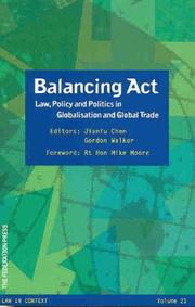 Cover of: Balancing ACT |