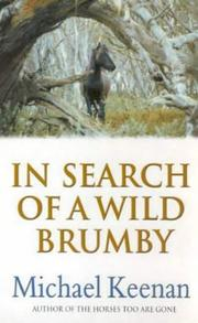 Cover of: In search of a wild brumby | Keenan, Michael