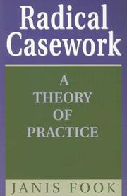 Cover of: Radical casework