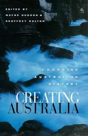 Cover of: Creating Australia