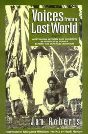 Cover of: Voices from a lost world | J. P. Roberts