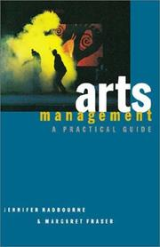 Cover of: Arts management