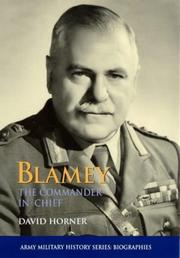 Cover of: Blamey