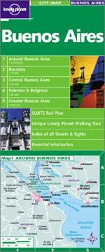 Cover of: City Map Buenos Aires