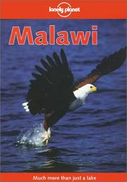 Cover of: Lonely Planet Malawi