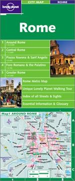 Cover of: Lonely Planet Rome City Map