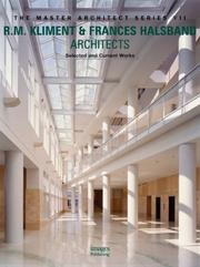 Cover of: R.M. Kliment & Frances Halsband Architects | Images Publishing Group