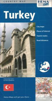Cover of: Turkey Country Map by Hema