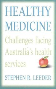 Cover of: Healthy medicine