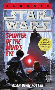Cover of: Star Wars - Splinter of the Mind's Eye