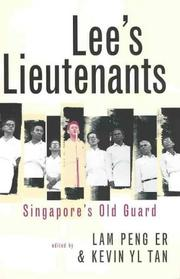 Cover of: Lee's lieutenants