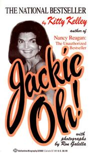 Cover of: Jackie Oh! | Kitty Kelley