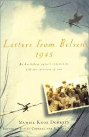 Letters from Belsen 1945 by Muriel Knox Doherty