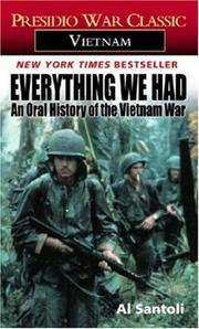 Cover of: Everything We Had