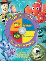 Cover of: Disney, Pixar CD Storybook (4-In-1 Disney Audio CD Storybooks) | Penton Overseas Inc